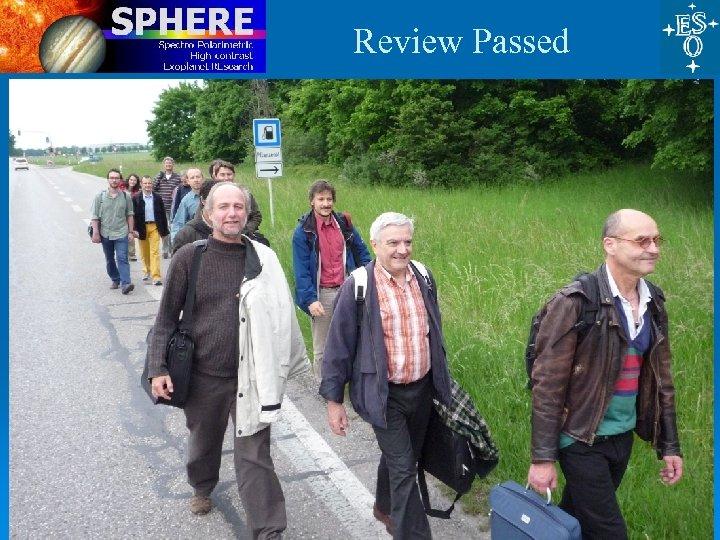 Review Passed ESO, 27 Nov 09 37