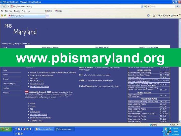 www. pbismaryland. org