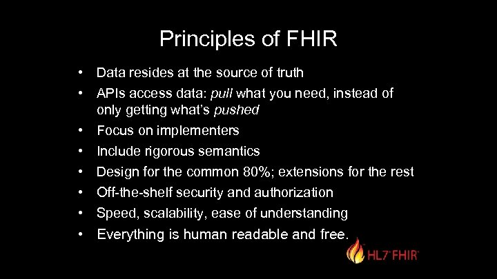 1 Implementing FHIR Fast Healthcare Interoperability Resources