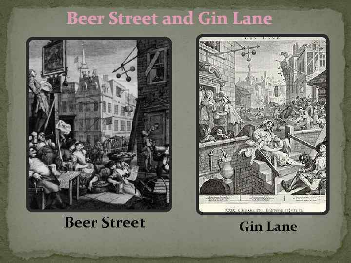 beer street and gin lane