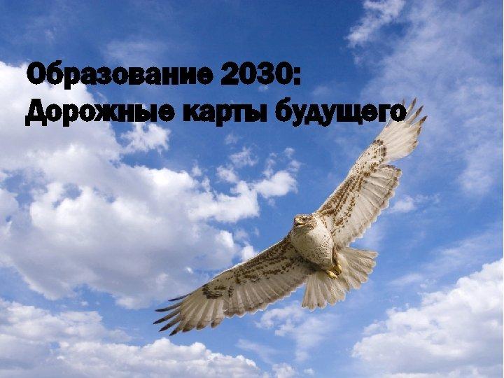 Образование 2030: Дорожные карты будущего