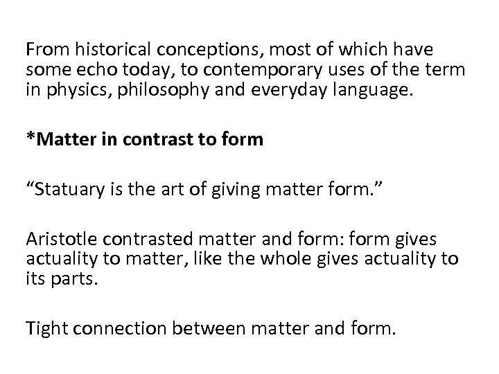 From historical conceptions, most of which have some echo today, to contemporary uses of