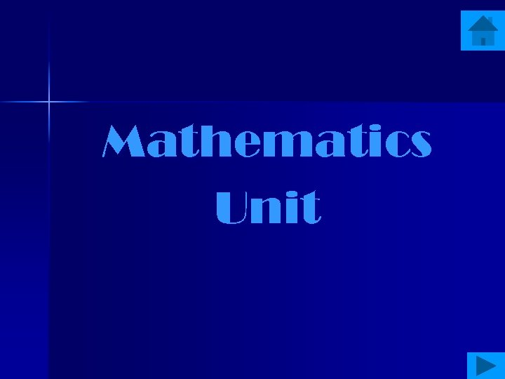 Mathematics Unit