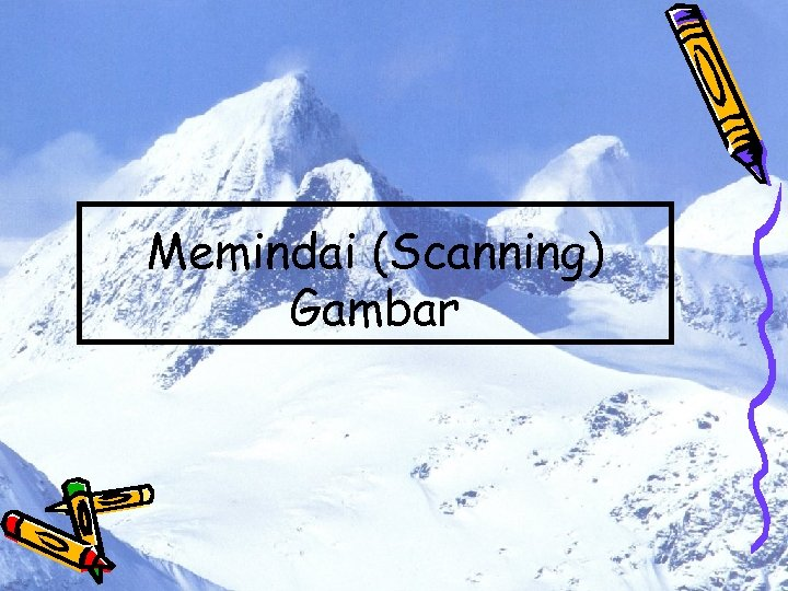 Memindai (Scanning) Gambar