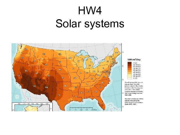 HW 4 Solar systems
