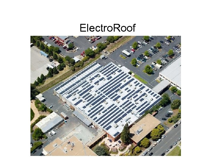 Electro. Roof