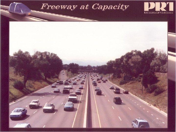 Freeway at Capacity