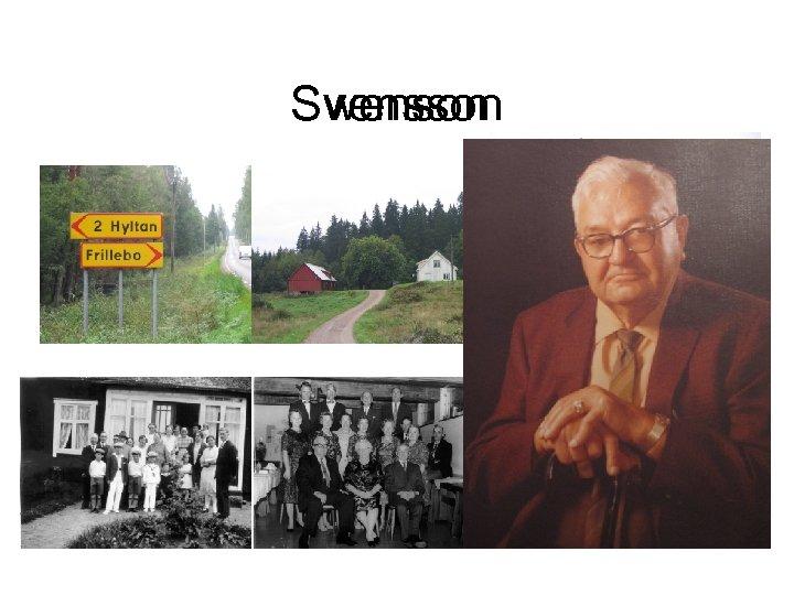 Svensson Swenson