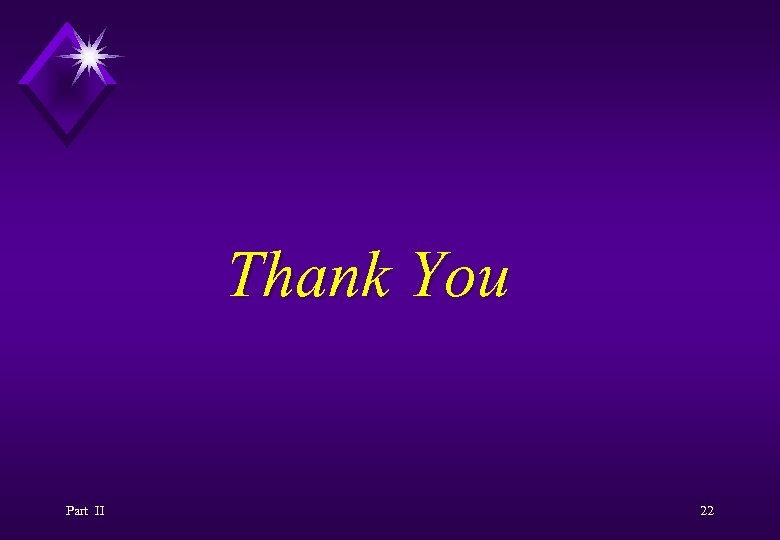 Thank You Part II 22