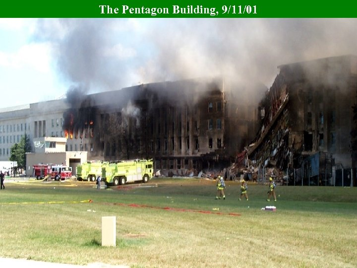 The Pentagon Building, 9/11/01