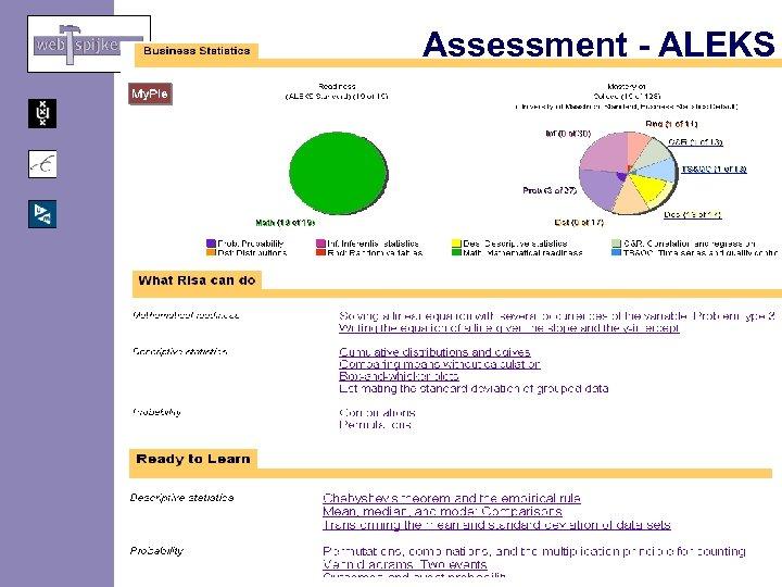Assessment - ALEKS