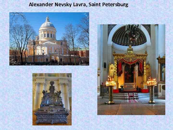 Alexander Nevsky Lavra, Saint Petersburg