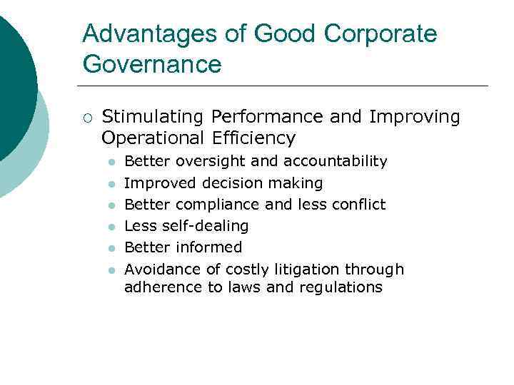 the role of ethics in corporate governance References applied corporate governance (2012) the importance of corporate governance: why do we have to take corporate governance seriously journal of business ethics 15 p167-182 castellano, j, lightle, s, baker, b (2011) the role of boards of directors in the financial crisis.
