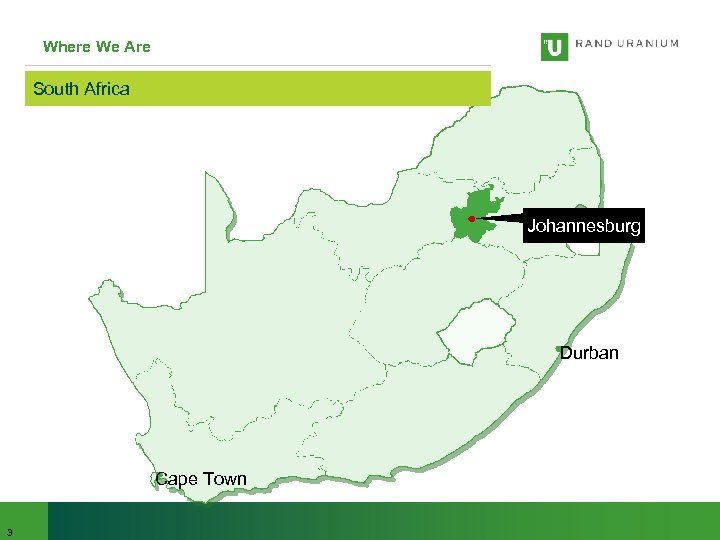 Where We Are South Africa Johannesburg Durban Cape Town 3