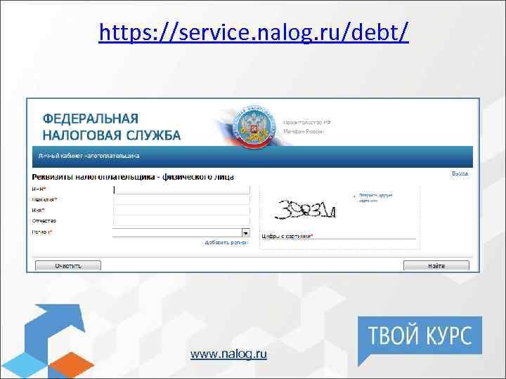https: //service. nalog. ru/debt/ www. nalog. ru