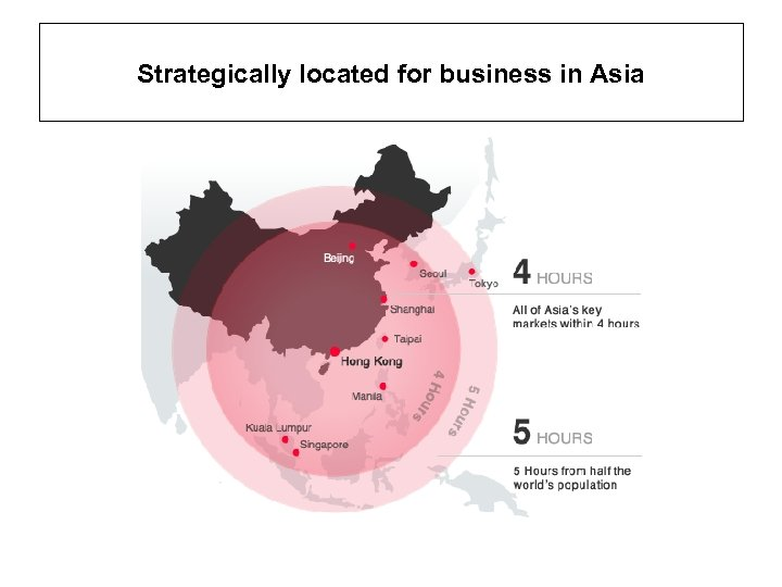 Strategically located for business in Asia