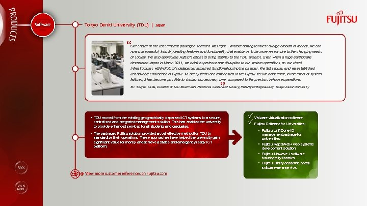 """Tokyo Denki University (TDU) 