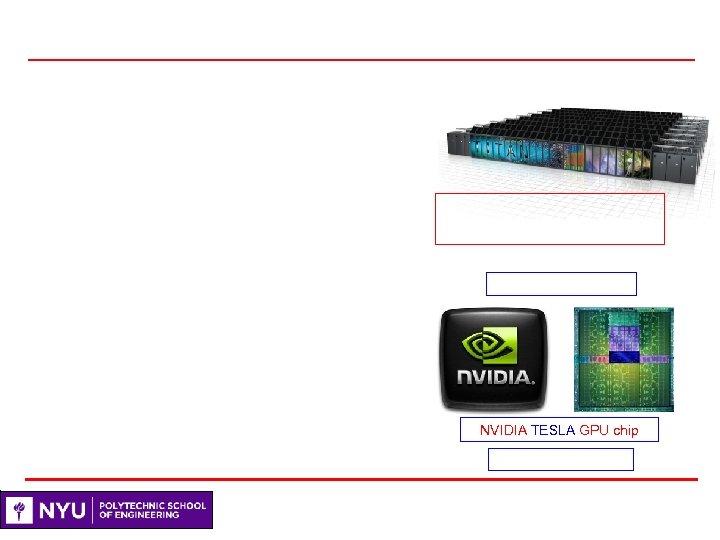 NVIDIA TESLA GPU chip