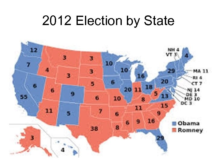 2012 Election by State