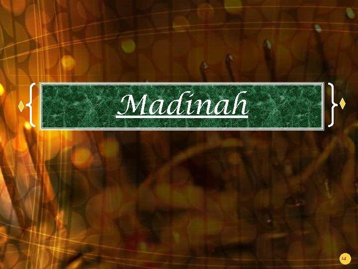 Madinah 14
