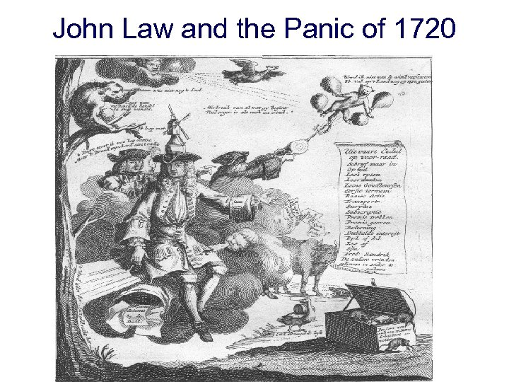 John Law and the Panic of 1720