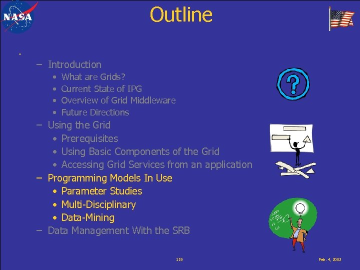 Outline. – Introduction • • What are Grids? Current State of IPG Overview of