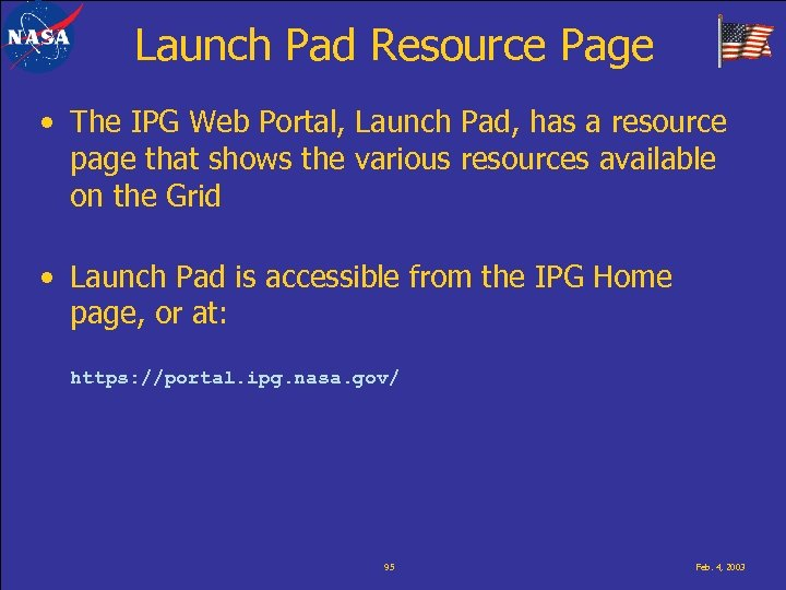 Launch Pad Resource Page • The IPG Web Portal, Launch Pad, has a resource
