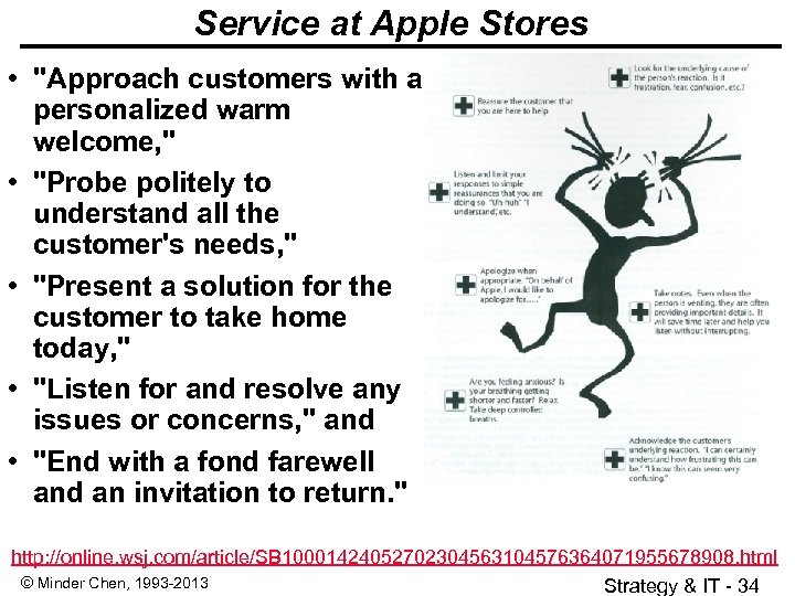 Service at Apple Stores •