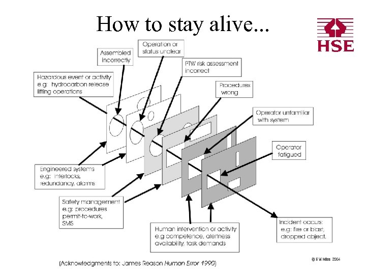 How to stay alive. . .