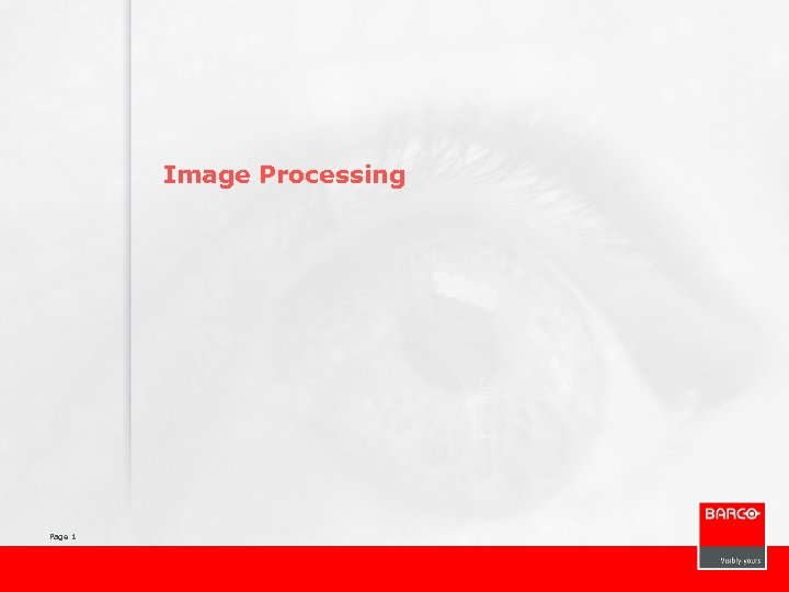 Image Processing Page 1