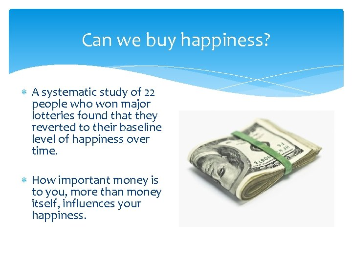 Can we buy happiness? A systematic study of 22 people who won major lotteries