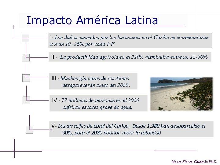 Impacto América Latina I- Los daños causados por los huracanes en el Caribe se