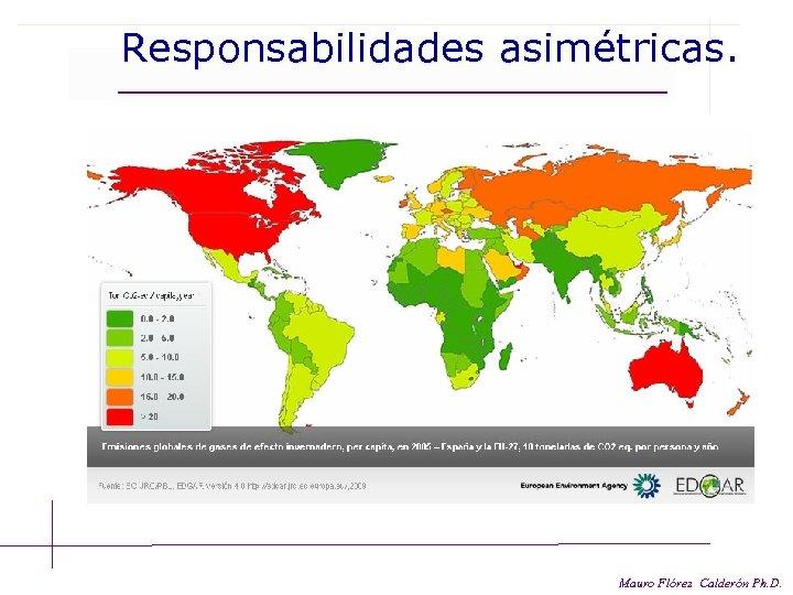 Responsabilidades asimétricas. Mauro Flórez Calderón Ph. D.