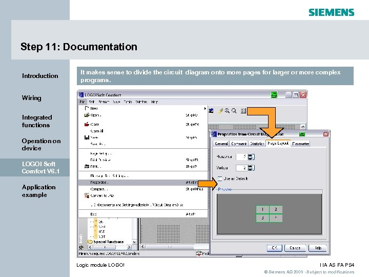 Step 11: Documentation Introduction It makes sense to divide the circuit diagram onto more