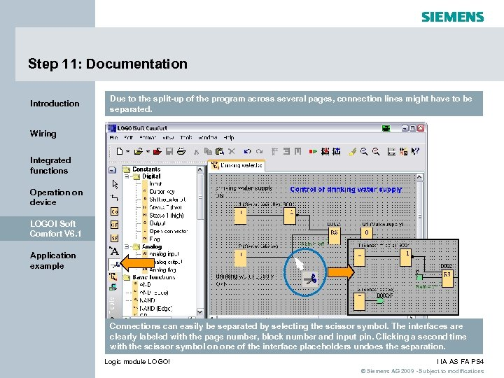 Step 11: Documentation Introduction Due to the split-up of the program across several pages,