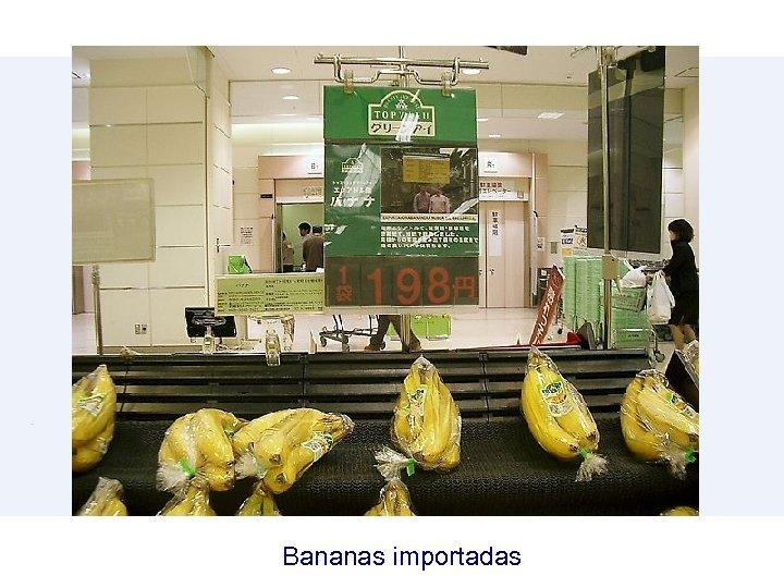 Bananas importadas