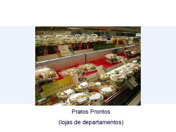 Pratos Prontos (lojas de departamentos)