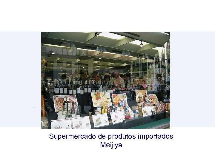 Supermercado de produtos importados Meijiya