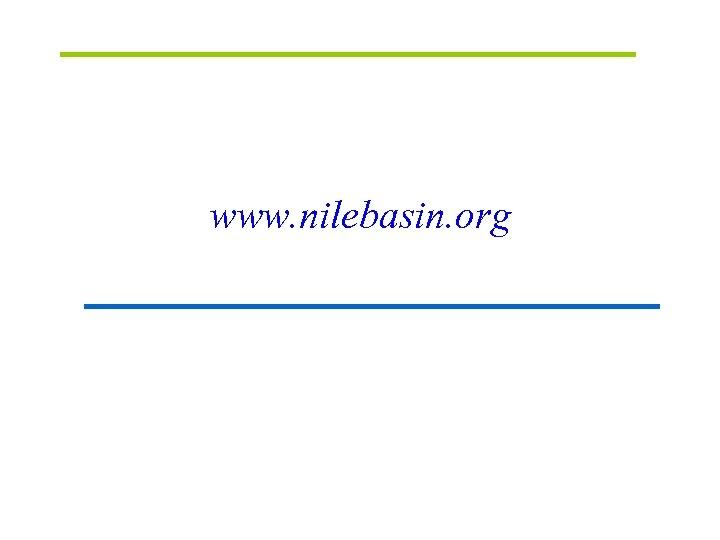 www. nilebasin. org