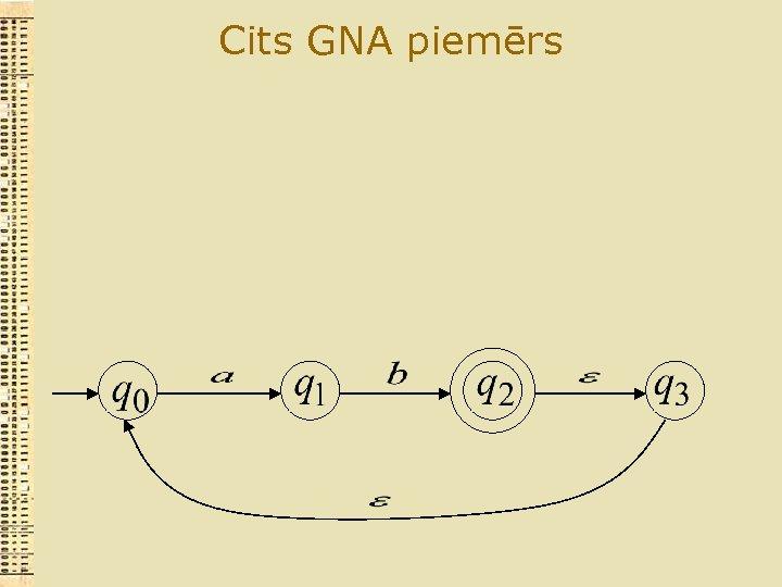 Cits GNA piemērs