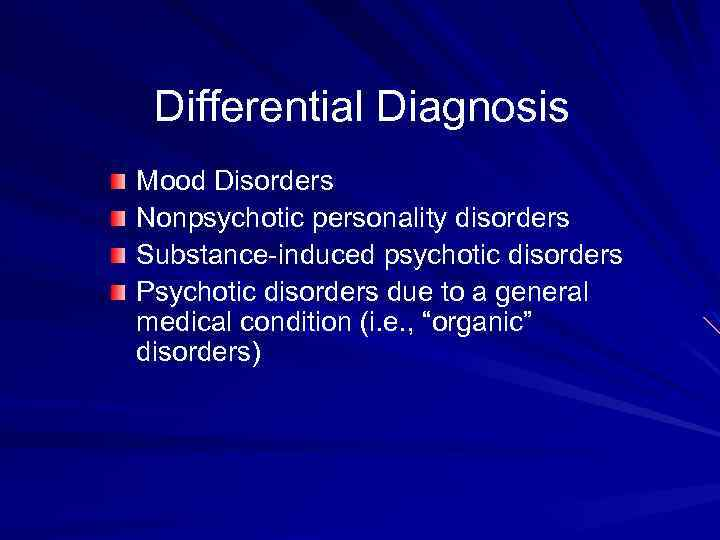 mood substance and personality disorders Substance use symptoms  understanding the difference between a personality disorder and a mood disorder can be challenging many of the symptoms have a definite overlap, but there are unique.