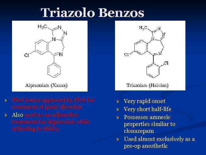 alprazolam a benzodiazepine
