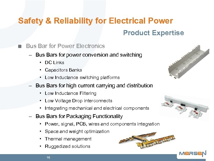 Safety & Reliability for Electrical Power Product Expertise Bus Bar for Power Electronics –