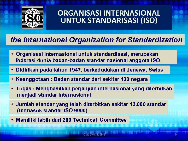 an analysis of the international organization of standardization We're iso, the international organization for standardization we develop and publish international standards by clare naden on 15 october 2018 feeding the world with iso standards on world food day zero hunger is one of the ambitious united nations sustainable development goals and.