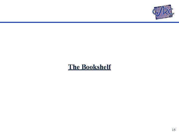 The Bookshelf 15