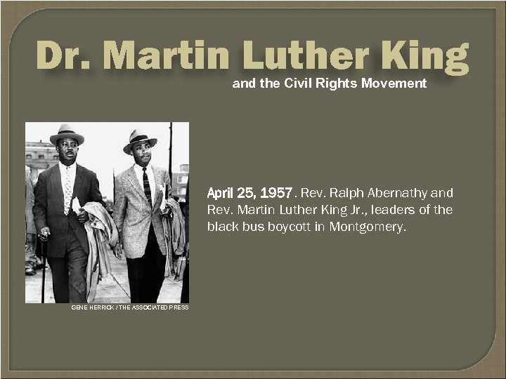 how martin luther king led a successful civil rights movement Martin luther king, jr was a great civil rights leader who gave his life in the name of fre citizens of montgomery began a bus boycott led by king he showed exceptional skills as a speaker and one must ask now, how did martin luther king jr help so greatly in the civil rights movement.