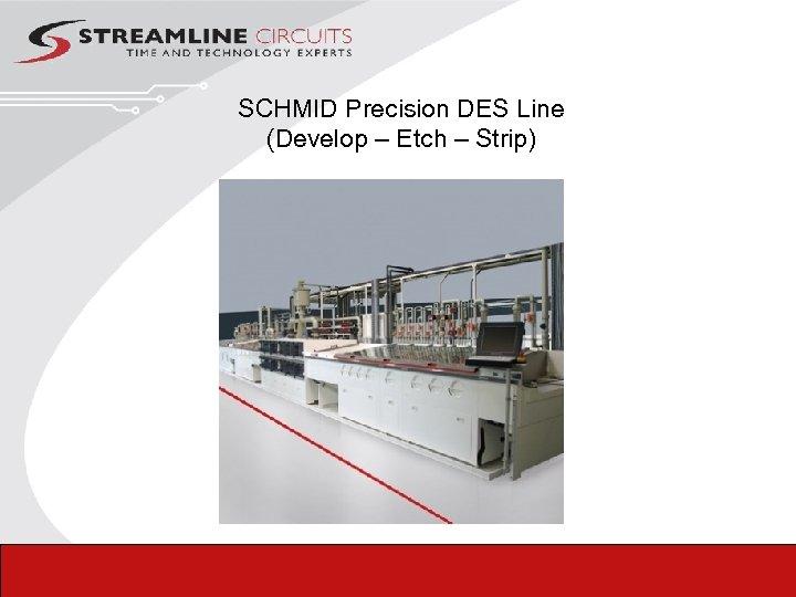 SCHMID Precision DES Line (Develop – Etch – Strip)