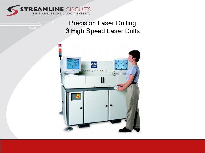 Precision Laser Drilling 6 High Speed Laser Drills
