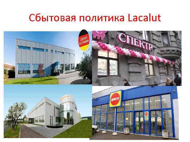 Сбытовая политика Lacalut
