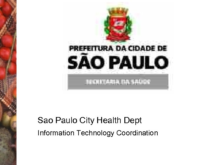 Sao Paulo City Health Dept Information Technology Coordination